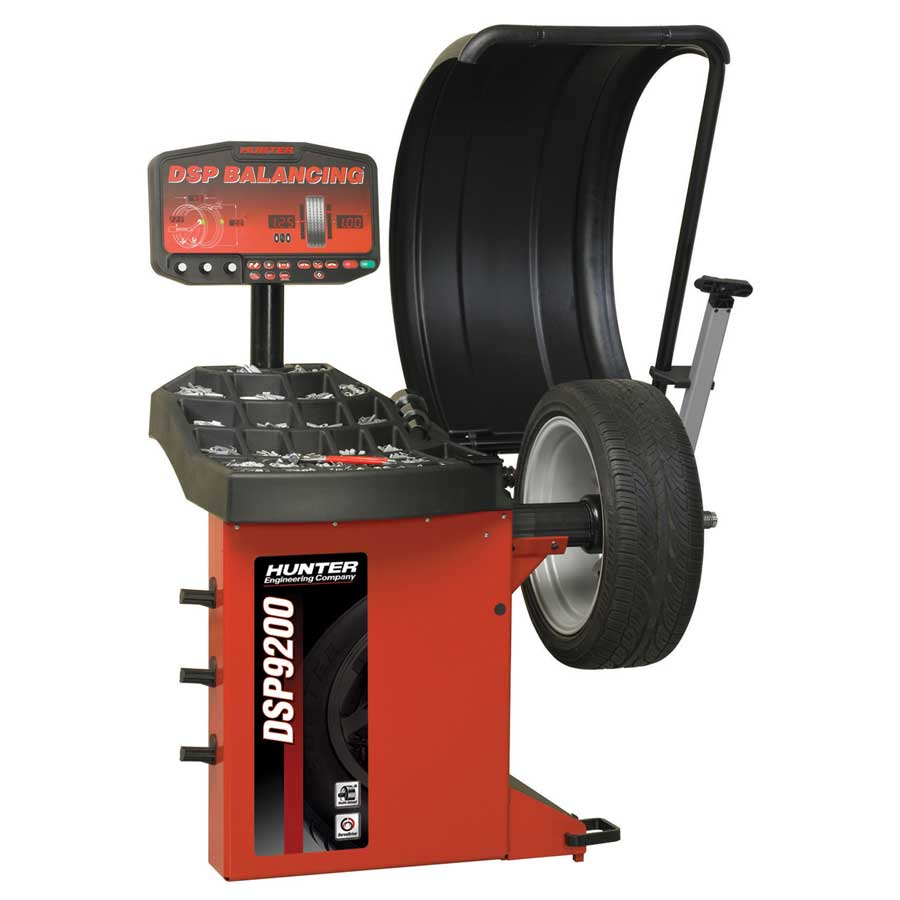 DSP9200 Wheel Balancer