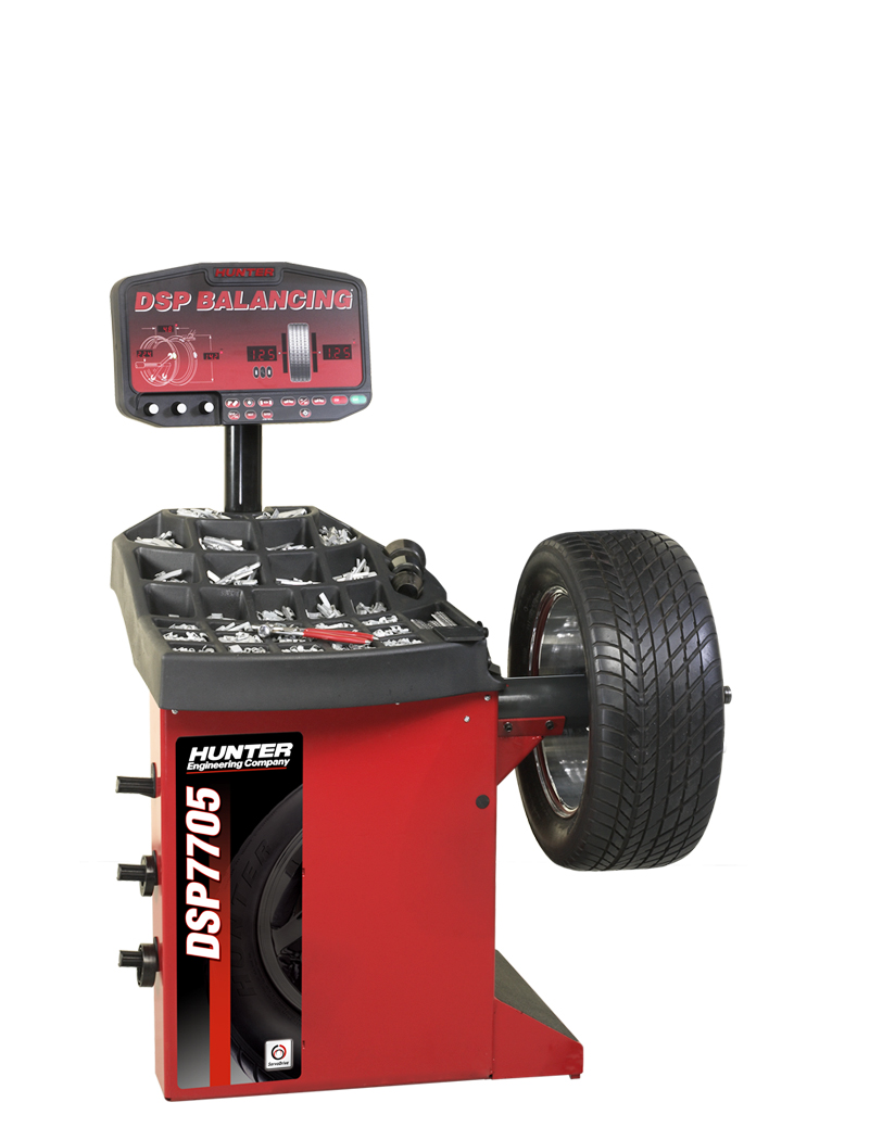 DSP7705 Wheel Balancer
